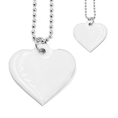 Dog Tag Heart (Two Sides)